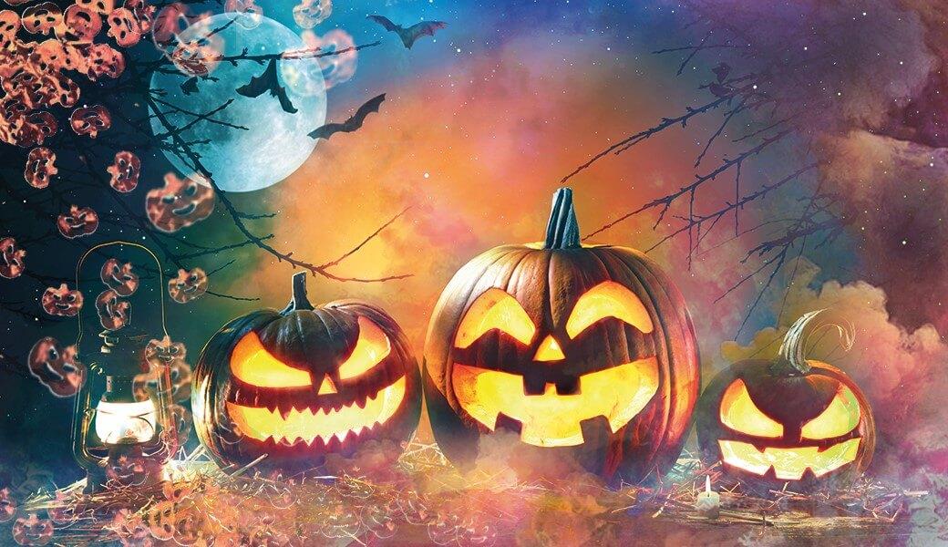 Halloween-Feuerwerk