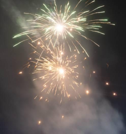 70% weniger Feinstaub durch Feuerwerk als bisher kommuniziert.