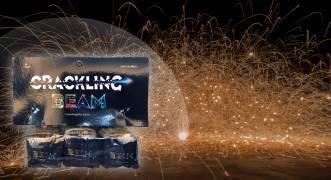 Pyroland Crackling Beam 3er Pack kubische Kanonenschläge
