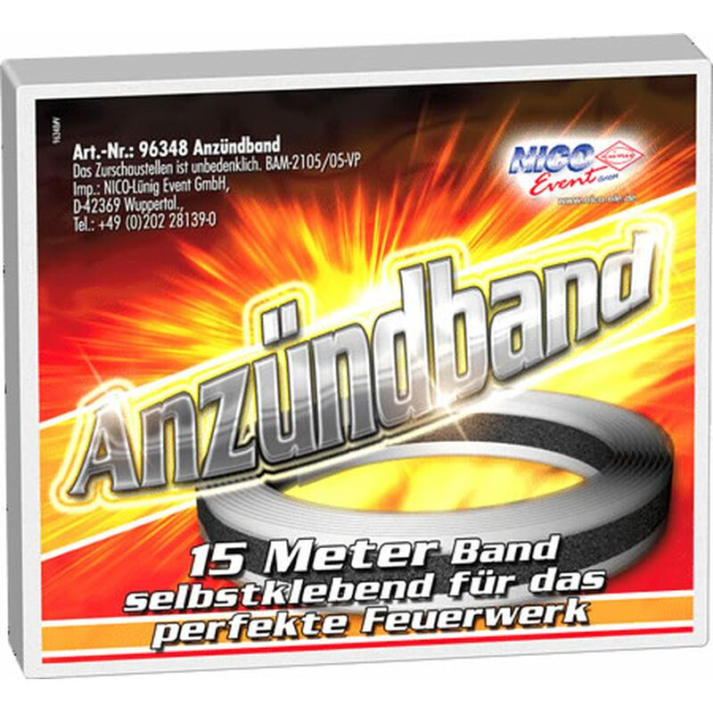 Tapematch, Anz�ndband