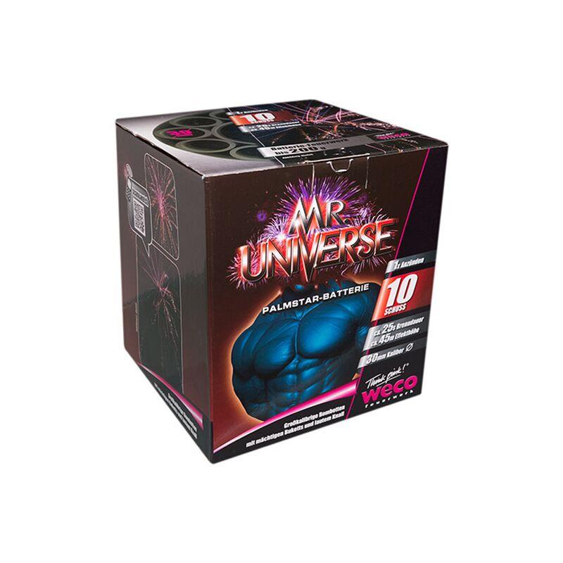 Mr. Universe 10-Schuss-Feuerwerk-Batterie 4001076033974