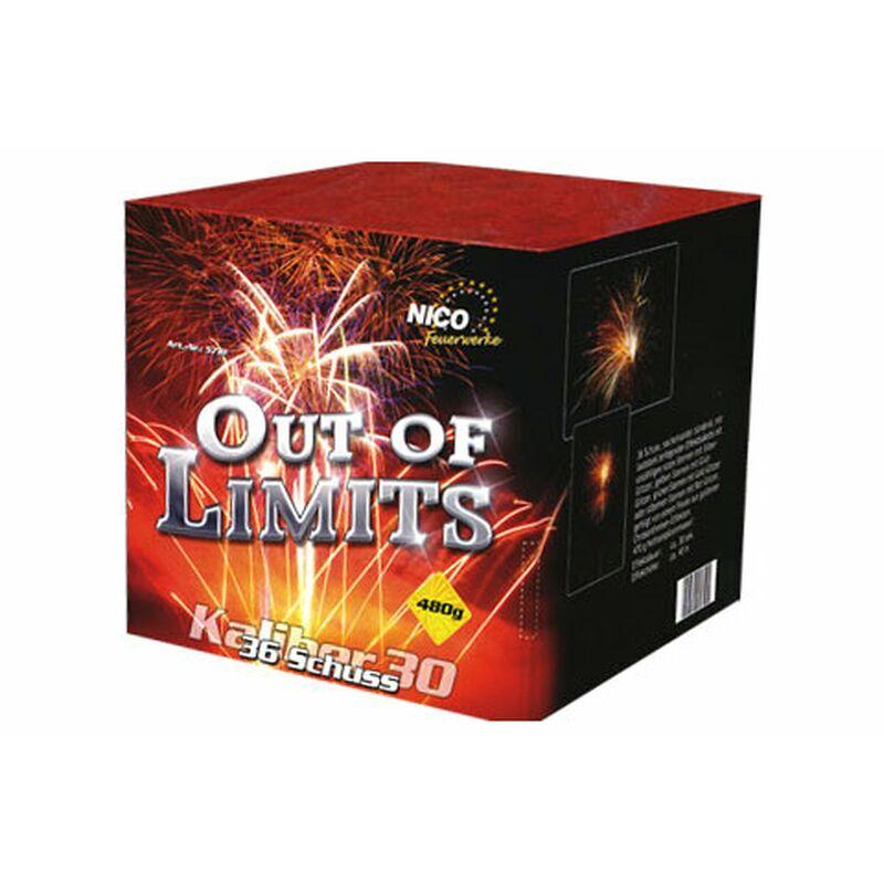 Out of Limits 36-Schuss-Feuerwerk-Batterie