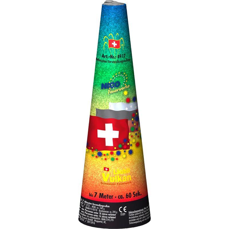 Schweizer Minuten-Verwandlungsvulkan