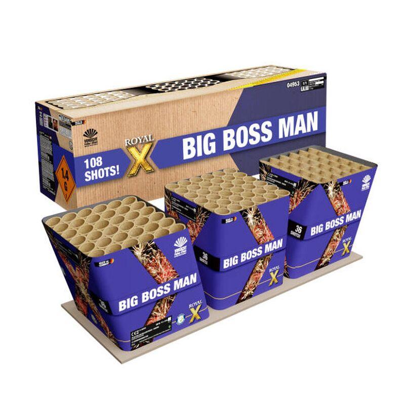 Big Boss Man 108-Schuss-Feuerwerkverbund