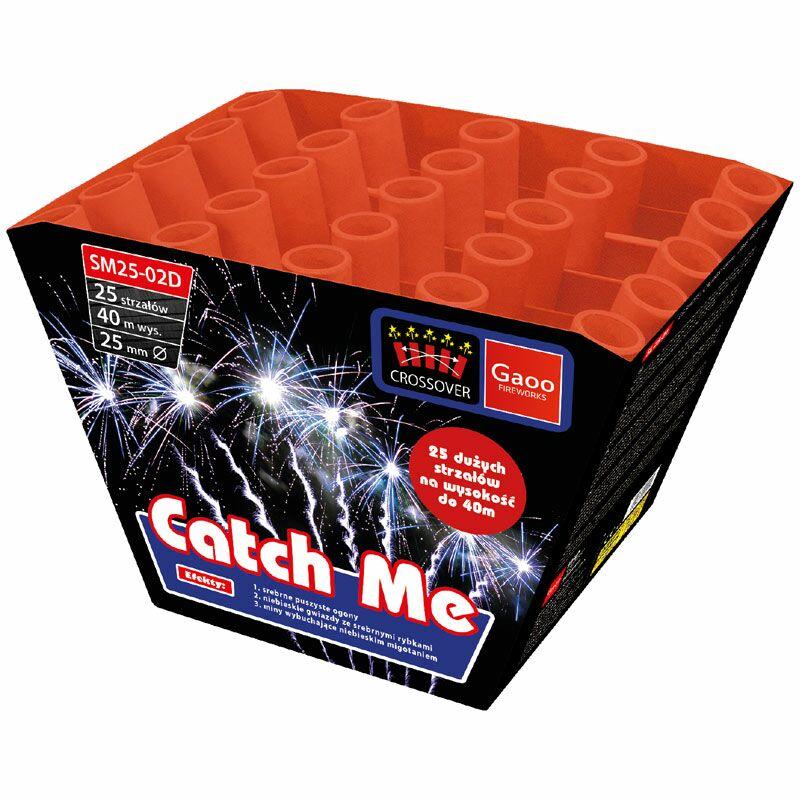 Catch Me 25-Schuss-Feuerwerk-Batterie