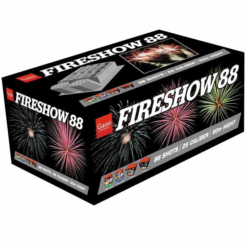 Fireshow 88-Schuss-Feuerwerkverbund Ein imposantes Verbundfeuerwerk!