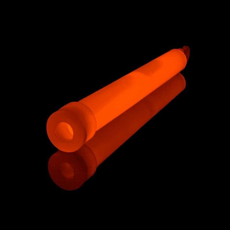 Power-Knicklicht Orange Das blaue PowerKNIXS Knicklicht hat eine Länge von 15 cm und einen Durchmesser von 1,5 cm. Nach dem Aktivieren (Knicken) leuchtet der PowerKNIXS Leuchtstab mindestens 8 Stunden.