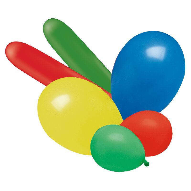 Luftballons, gemischt Luftballons in verschiedenen Farben, Formen und Größen 25 Stück in der Packung