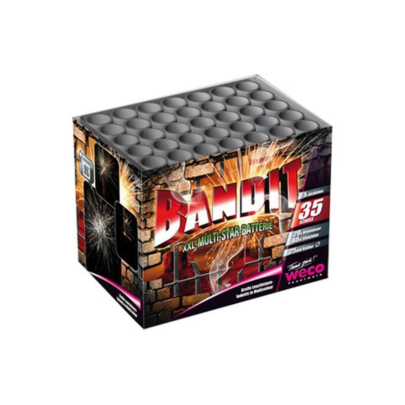 Bandit 35-Schuss-Feuerwerk-Batterie