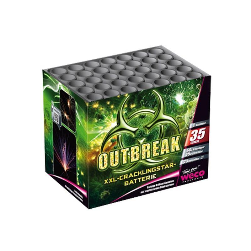 Outbreak 35-Schuss-Feuerwerk-Batterie