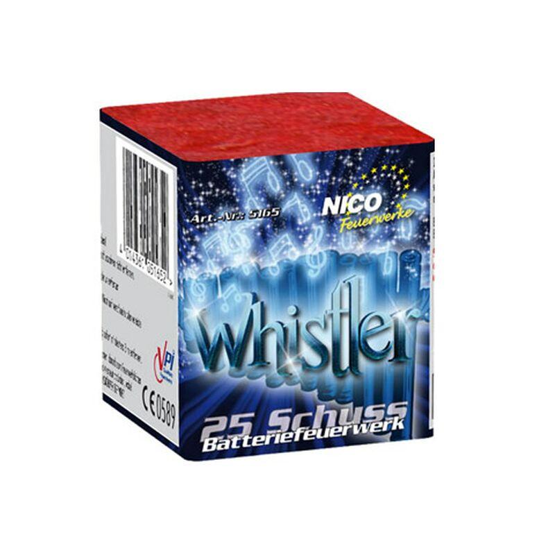 Whistler 25-Schuss-Feuerwerk-Batterie