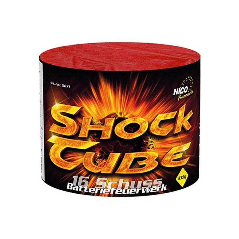 Shock Tube 16-Schuss-Feuerwerk-Batterie