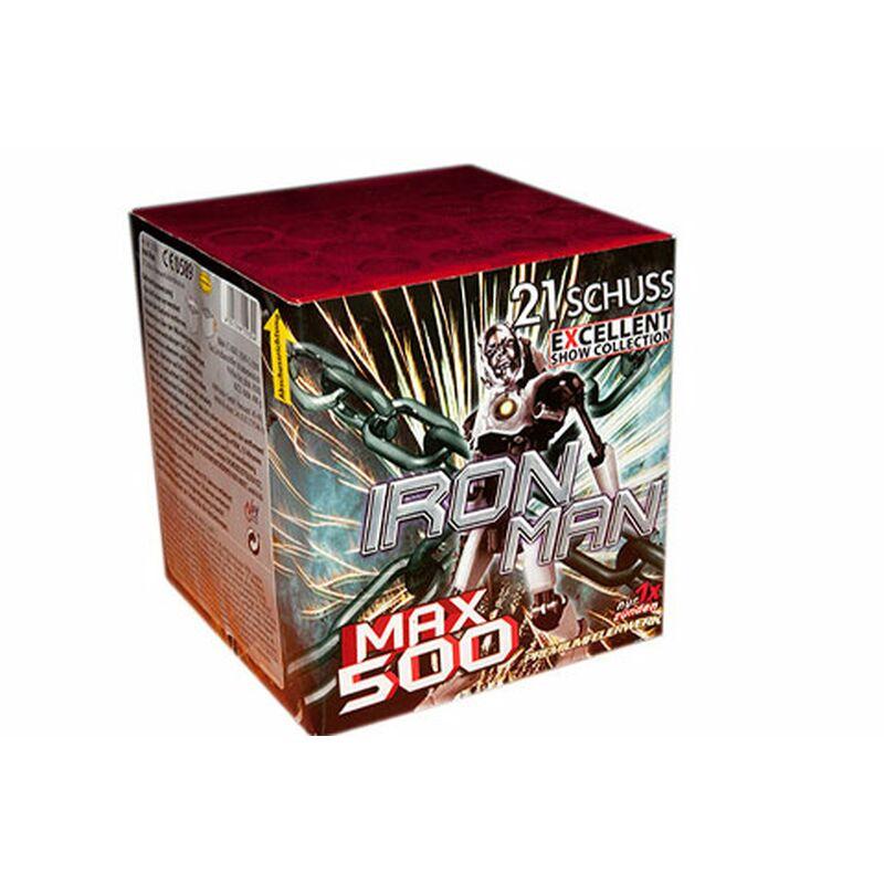 Iron Man (Evil Eye) 21-Schuss-Feuerwerk-Batterie