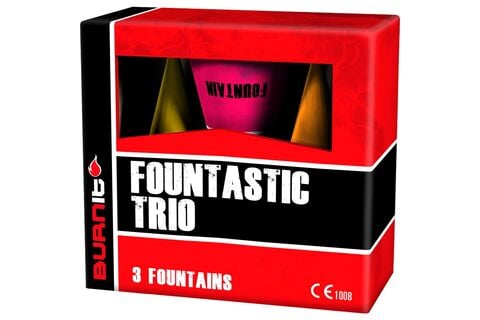 Fountastic Trio 3er Vulkan-Set