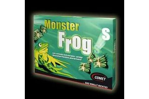 Monster Frogs 6er Pack