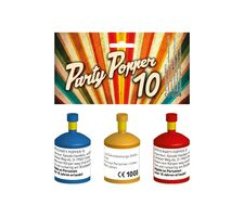 Party Popper 10er Set