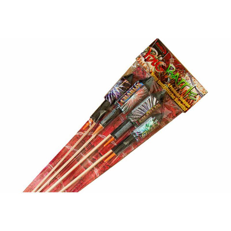 Big Battle Feuerwerk Raketensortiment