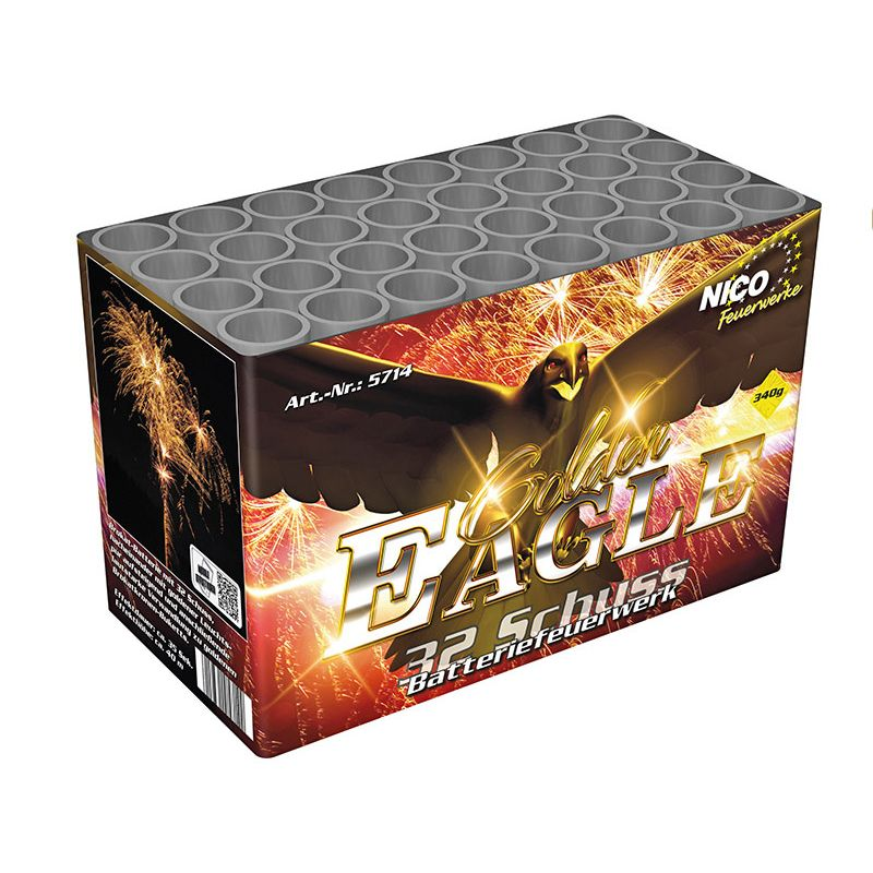 Golden Eagle 32-Schuss-Feuerwerks-Batterie