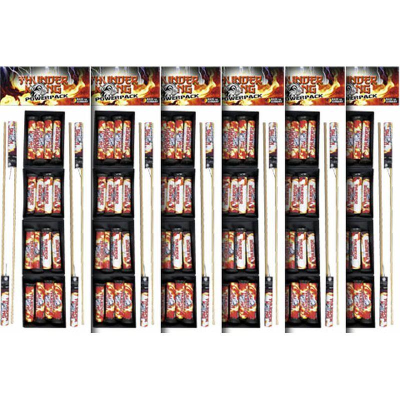 Thunder Kong Powerpack 6er (Stahlkäfig)