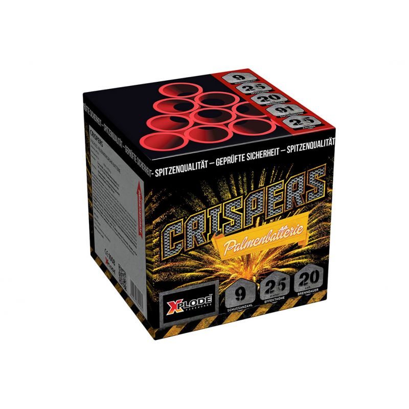 Crispers 9-Schuss-Feuerwerk-Batterie