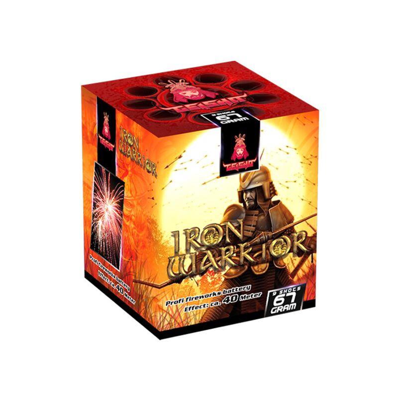 Iron Warrior 9-Schuss-Feuerwerk-Batterie
