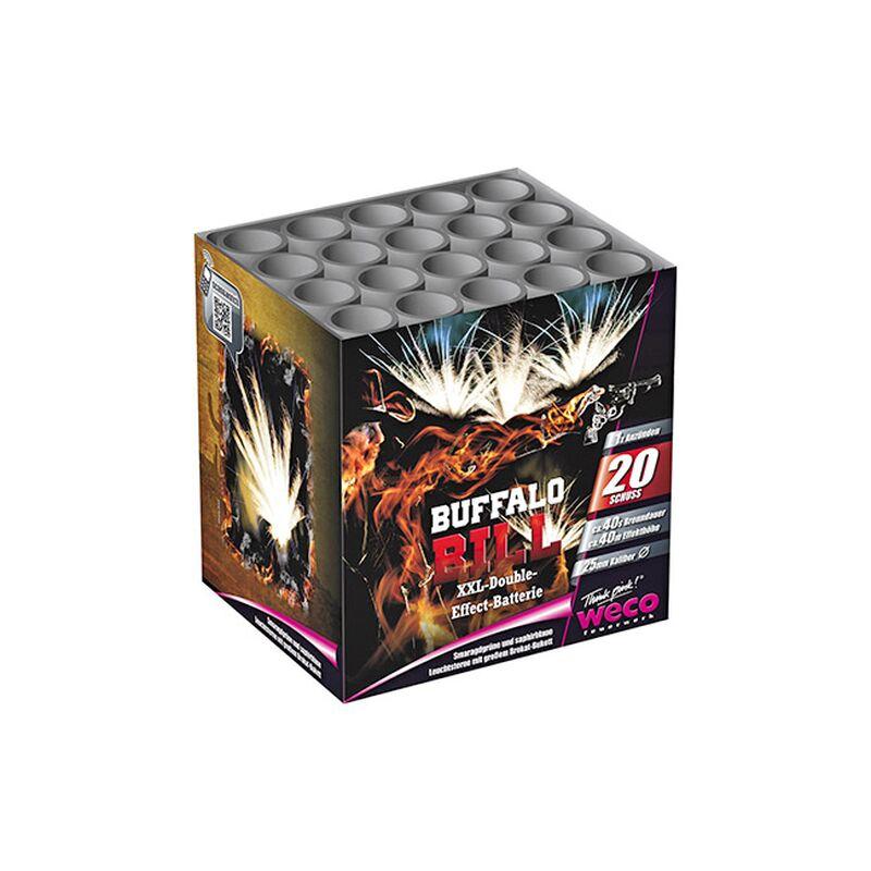 Buffalo Bill 20-Schuss-Feuerwerk-Batterie