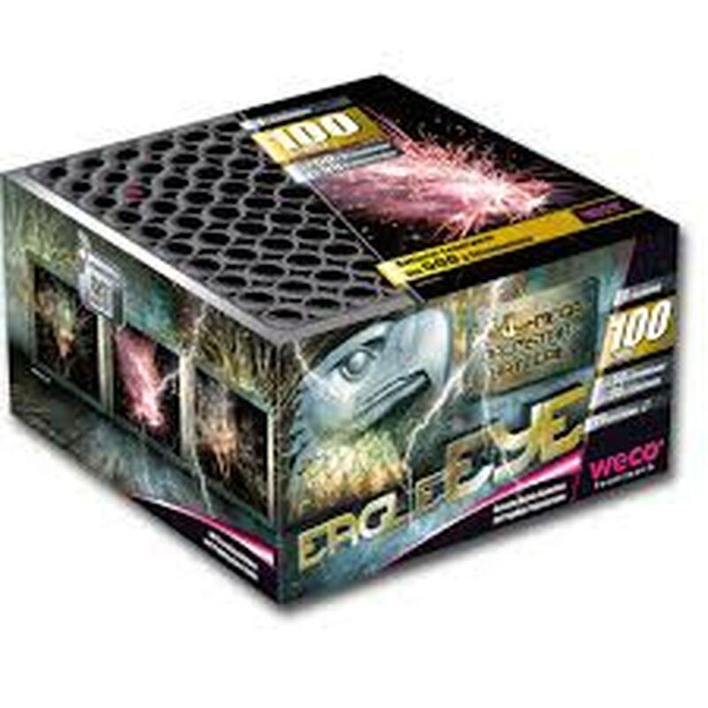 Eagle Eye 100-Schuss-Feuerwerk-Batterie