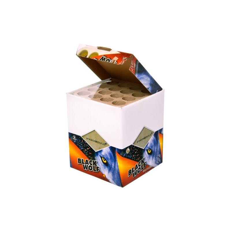 Black Wolf 16-Schuss-Blitzknall-Batterie, 6er Karton (Stahlkäfig) 8714365031105