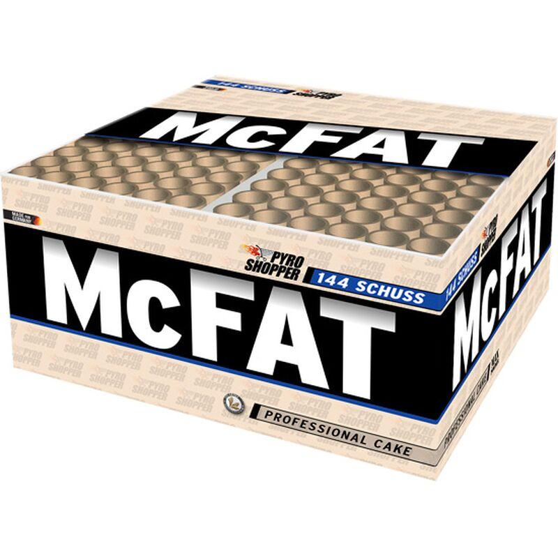 McFAT 144-Schuss-Feuerwerk-Batterie (Stahlkäfig) 144 Schüsse mit fast 100 Sekunden Dauer. Professionelles Feuerwerkdisplay! Im Stahlkäfig!