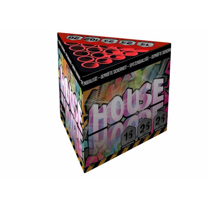 House 15-Schuss-Feuerwerk-Batterie