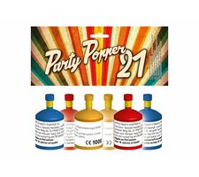 Party Popper 21er Set