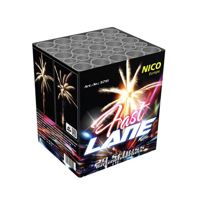 Fast Lane 29-Schuss-Feuerwerk-Batterie