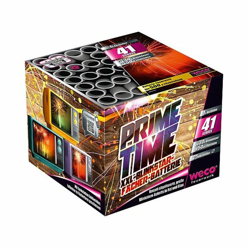 Prime Time 41-Schuss-Feuerwerk-Batterie 4047291054905