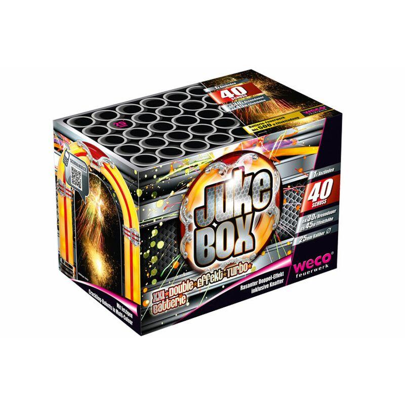 Jukebox 40-Schuss-Feuerwerk-Batterie