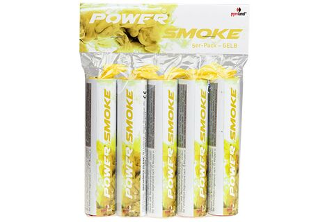 Power Smoke Gelb 60s