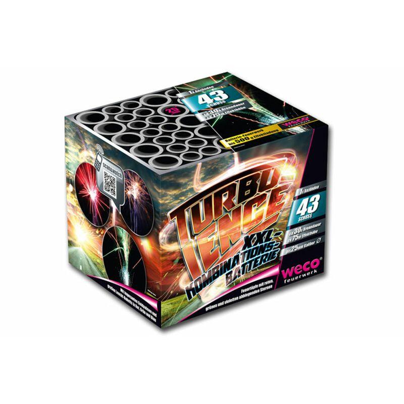 Turbulence 43-Schuss-Feuerwerk-Batterie