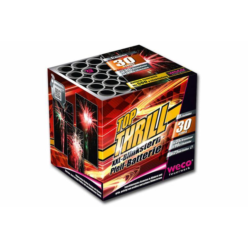 Top Thrill 30-Schuss-Feuerwerk-Batterie
