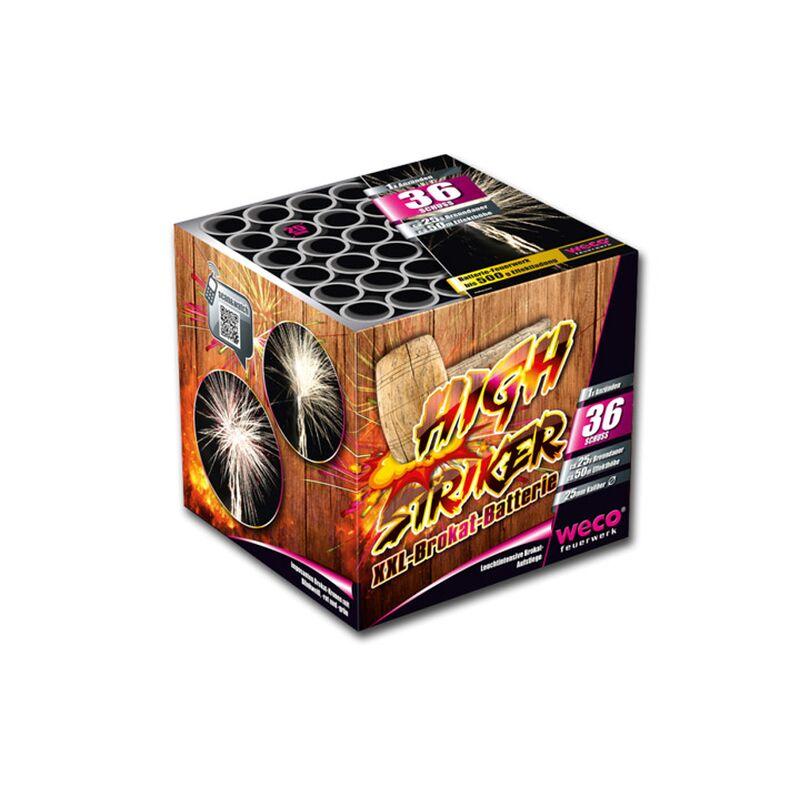 High Striker 36-Schuss-Feuerwerk-Batterie
