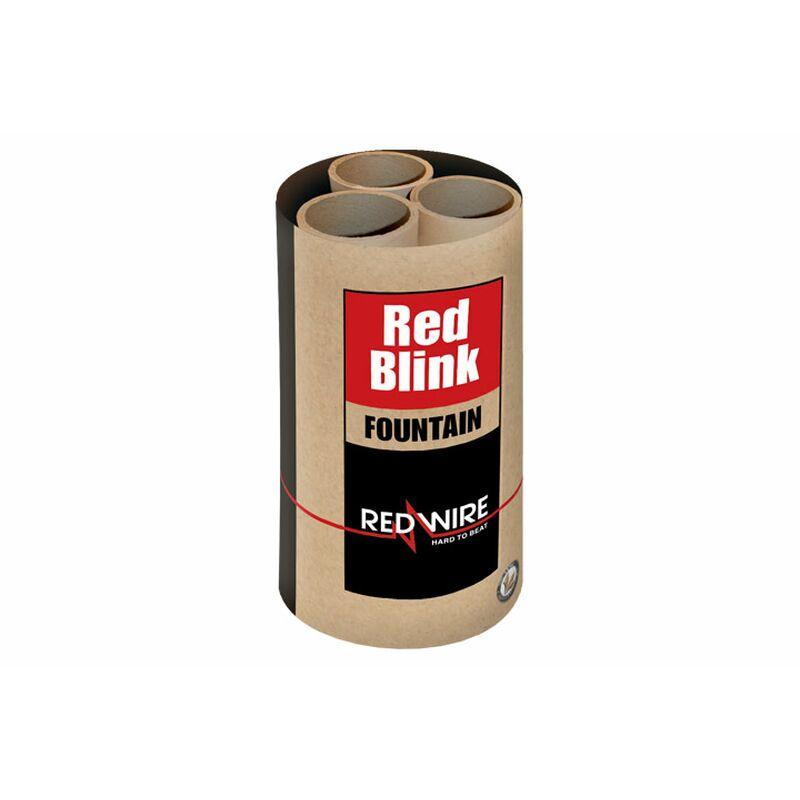 Red Blink - Blinkfontäne Professionelle rote Blink-Fontäne.