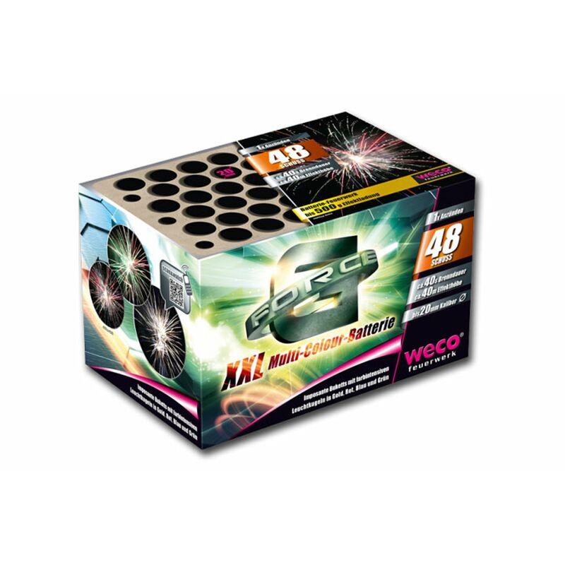 G-Force 48-Schuss-Feuerwerk-Batterie