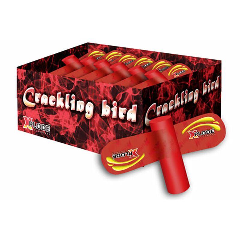 Crackling Bird Großer Feuervogel mit buntem Aufstieg zu einer Cracklingwolke. 1 Packung á 6 Stück. NEM pro Stück: 18g