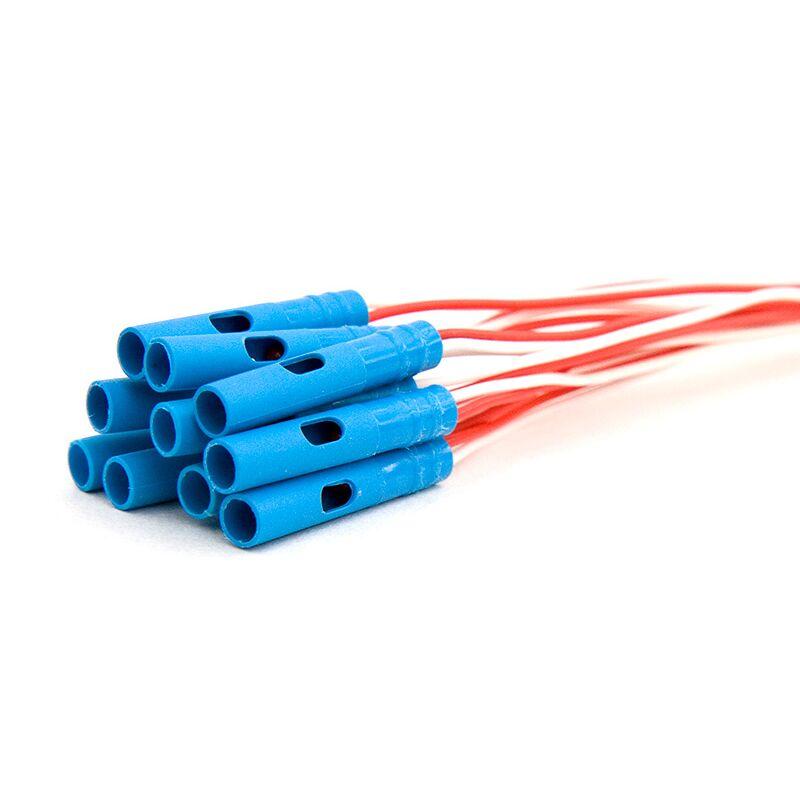 A-Zünder mit Kappe 10 Stück Mit Kappe und Querbohrung zum elektrischen Zünden von Zündschnüren oder Anzündlitzen. Mit Zuleitung ca. 20cm . max. Gesamtwiderstand bei max. 3,5 m Zünderdrahtlänge 4,5 O Brückenwiderstand 0,8 bis 2,0 O erforderlicher Zündimpuls 0,8 bis 3,0 mWs/O Ansprech-Stromstärke (Auslösen innerhalb von 10 ms) 0,6 A Nicht-Ansprech-Stromstärke (innerhalb von 5 min) 0,18 A Stromstärke zur versagerfreien Zündung von 5 gleichen Anzündern in einer Serienschaltung 0,8 A