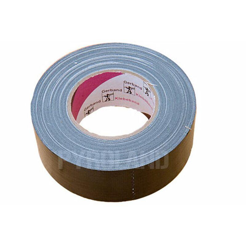 Gewebeband, Gaffa Tape (schwarz) Hoch belastbar, leicht in Querrichtung mit der Hand abzureißen, hinterlässt keine Kleberückstände. Breite: 5cm Länge 50m