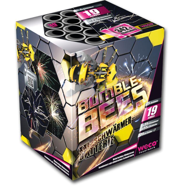 Bumblebees 19-Schuss-Feuerwerk-Batterie