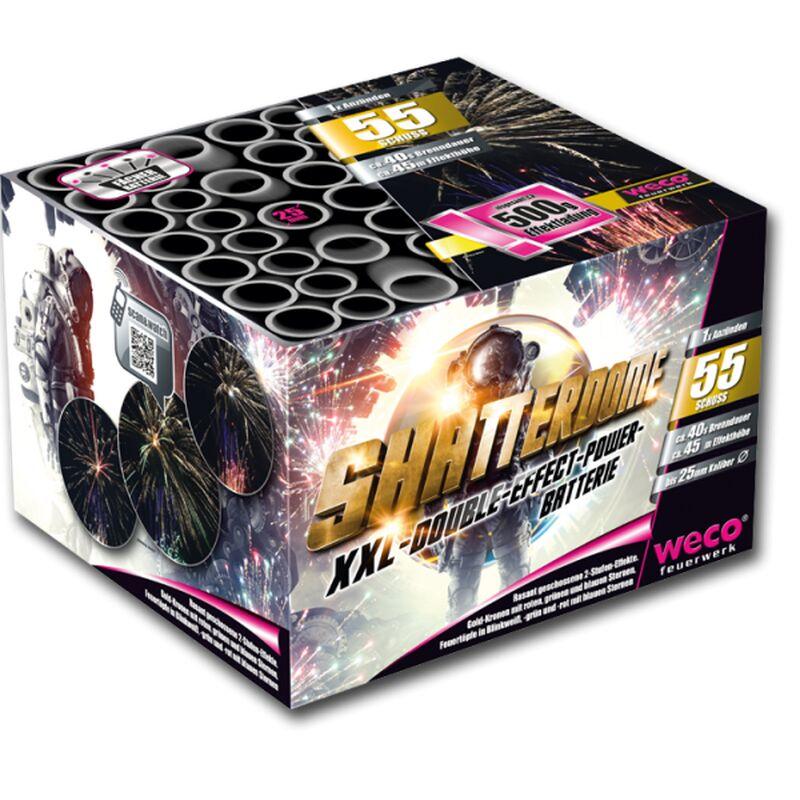 Shatterdome 55-Schuss-Feuerwerk-Batterie